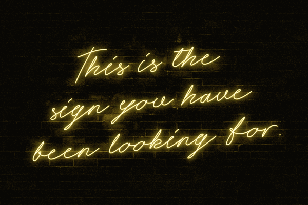 Neon Lettering for Fashion Shops and Signs