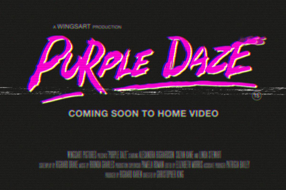 Zombie Punks - 80s Retro Horror Font