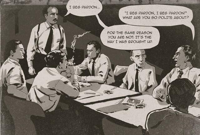 12 Angry Men Comic Book