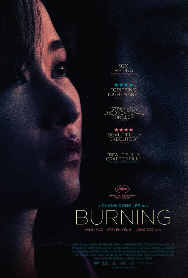 Chang-dong Lee Burning Movie Poster