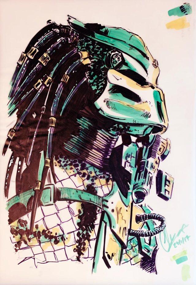 The Predator Sketch