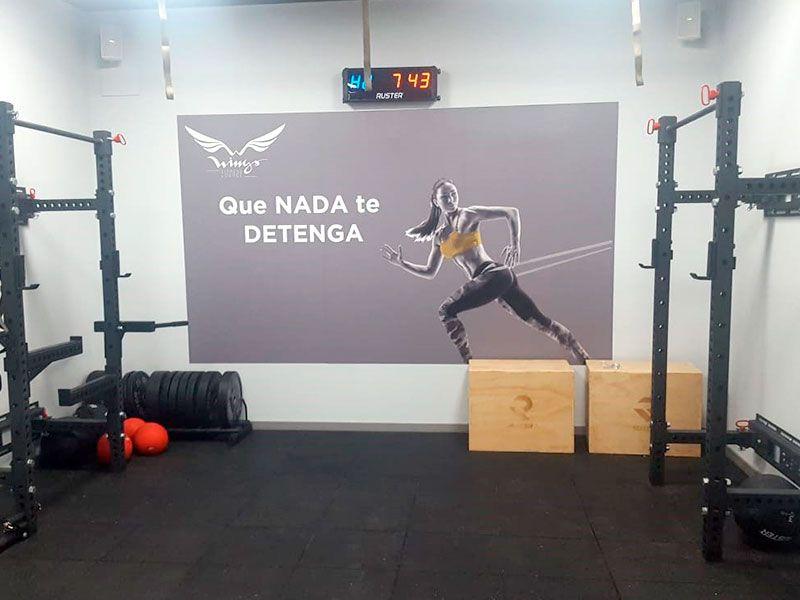 Sala - Gimnasio Wings Fitness Valterna