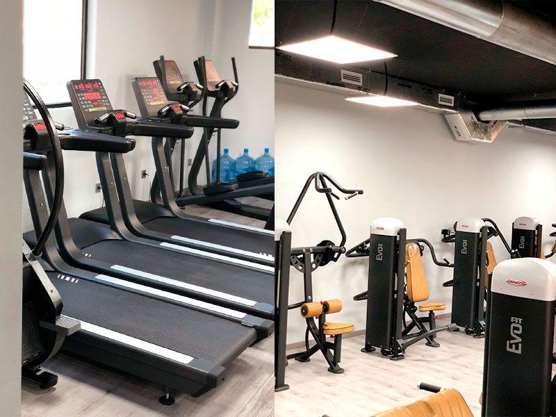 Sala de Ejercicios - Gimnasio Wings Fitness Valterna