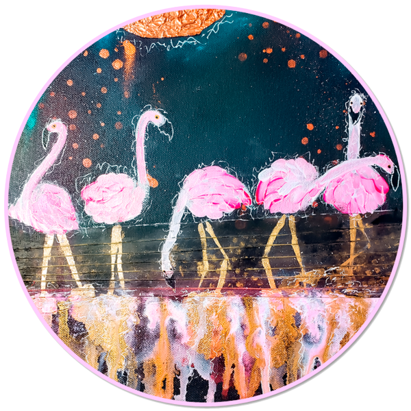 Flamingo Moon Dance