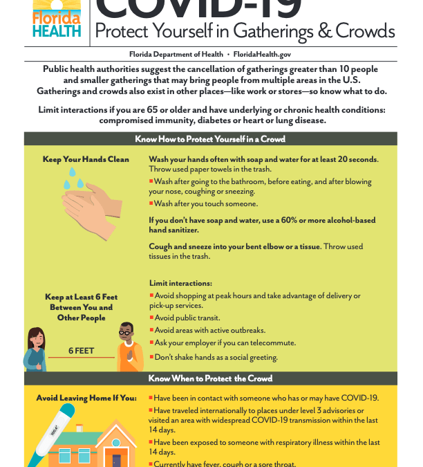 Protect Yourself in Gatherings and Crowds