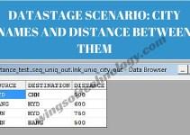 DATASTAGE-SCENARIO-CITY-NAMES-AND-DISTANCE-BETWEEN-THEM
