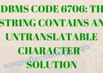 RDBMS-CODE-6706