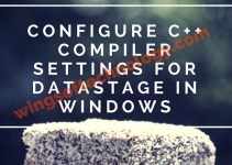Configure-C++-Compiler-Settings-for-DataStage-in-Windows