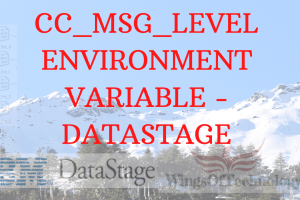 CC_MSG_LEVEL-DATASTAGE