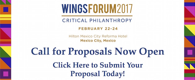 WINGSForum 2017: Call for Proposals