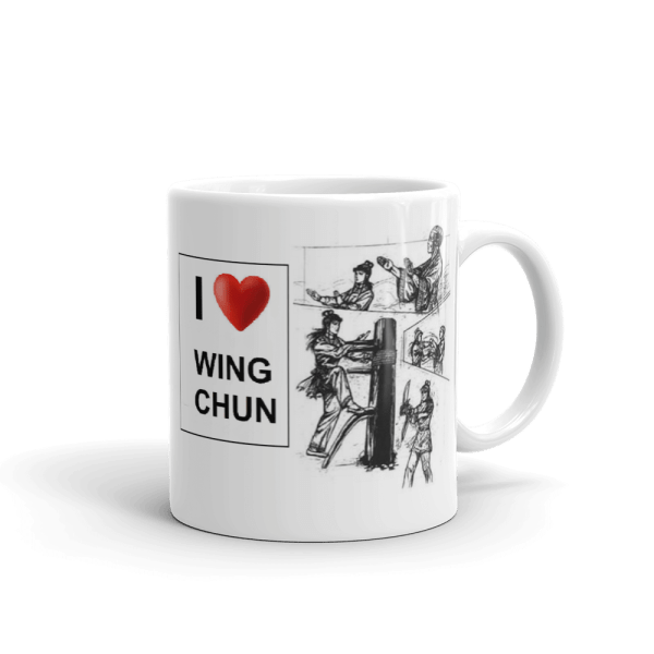 Mug collection Wing Chun Ng Mui