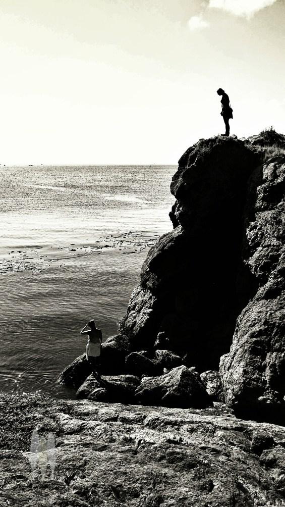 Exploring Eagle Cove on San Juan Island.