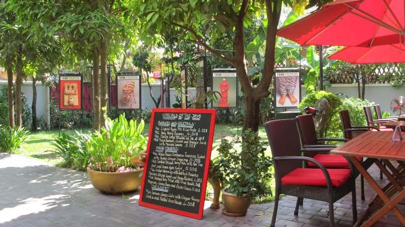 Marum Restaurant, Siem Reap, Cambodia