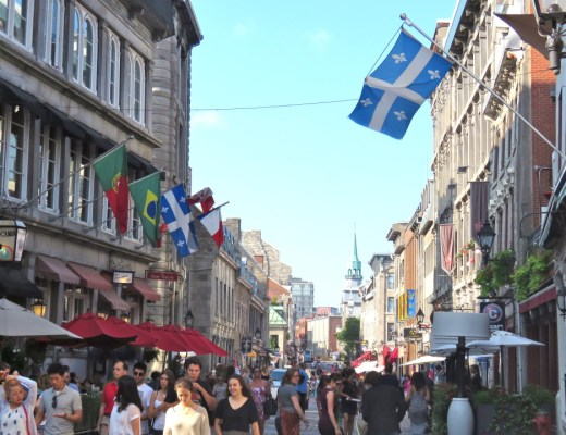 Street in Old Montreal