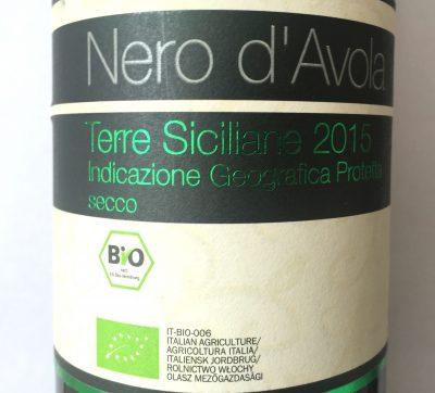 VEB Terre Siciliane Nero d'Avola Bio 2015