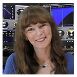 Photo of video game music composer Winifred Phillips, included in the biography section of her article about video game music.
