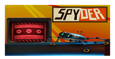 This image shows the star of the Spyder video game - Agent 8. As included in the article by Winifred Phillips (video game music composer).