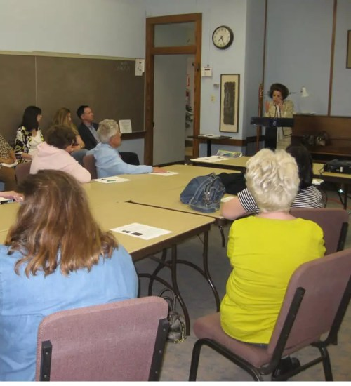 Warmly welcomed for four presentations in Ohio at: