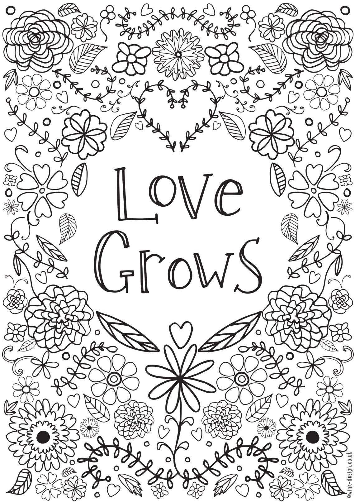 Free printable adult colouring pages for the New Year ... | free printable coloring pages for adults funny