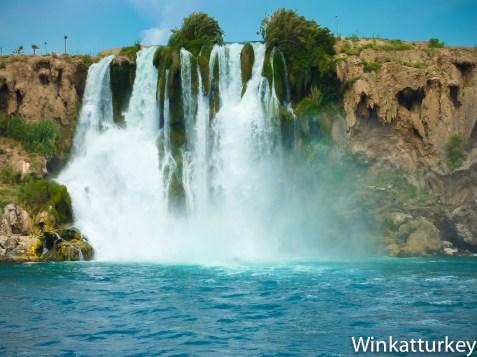 Cataratas Duden. Antalya
