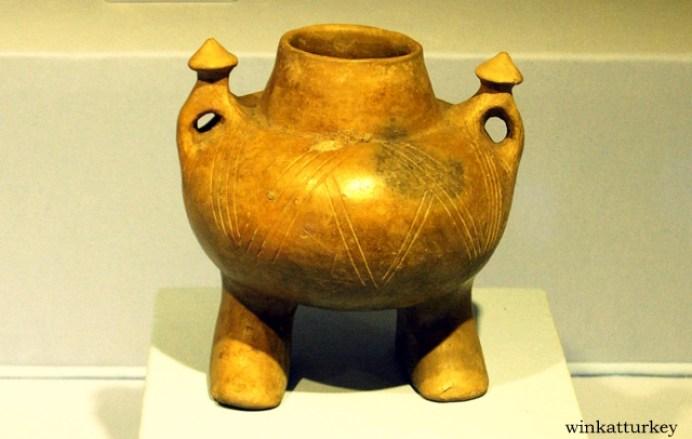 Vasija ceremonial de la Edad de Bronce temprana.