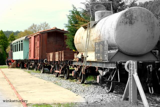 Distintos tipos de vagones de tren