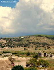 Vista general de los restos de Patara
