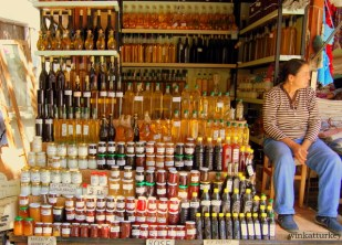 Productos orgánicos. Mermeladas, aceites y miel