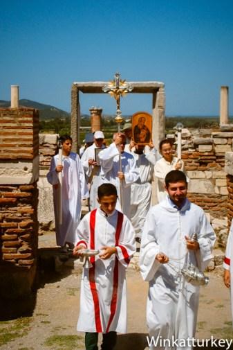 Peregrinación a la Basílica de San Juan. Selçuk