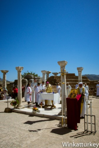 Altar de la Basílica de San Juan. Selçulk