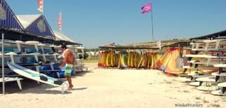 Alquiler de material para el windsurf