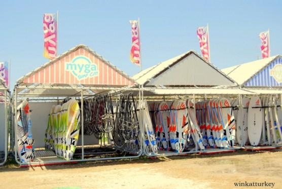 Alquiler de material para windsurf