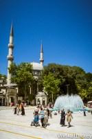 Entrada a la Mezquita de Eyüp