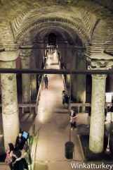 Vista desde la escaleras de acceso