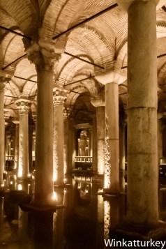 Las columnas son de estilos diferentes