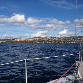 Navegando en el Egeo