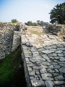 Rampa de entrada a Troya