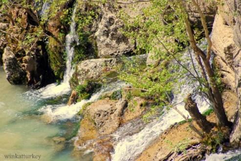 Manantiales de agua naturales