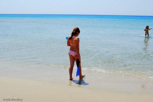 Altinkum playa