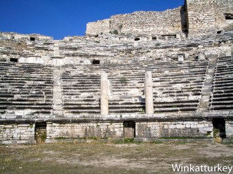 Columnas del palco imperial