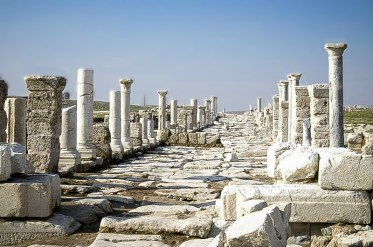 Entrada a Laodicea. Foto Travelinturkey