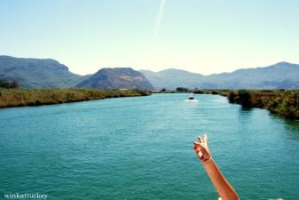 En el río Dalyan