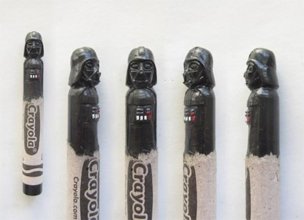 Wax Nostalgic Carved Crayons by HoangTran - Darth Vader