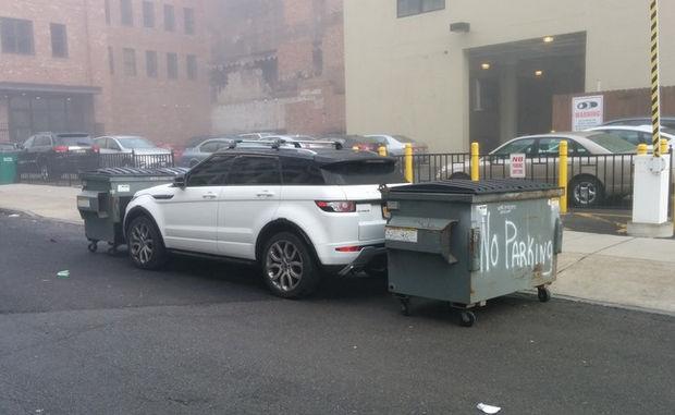 22 Bad Parking Jobs - No parking.