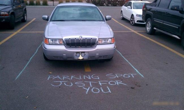 22 Bad Parking Jobs - Parking spot just for you.