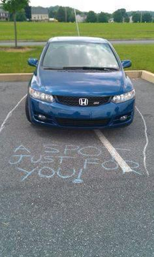 22 Bad Parking Jobs - A parking spot just for you!