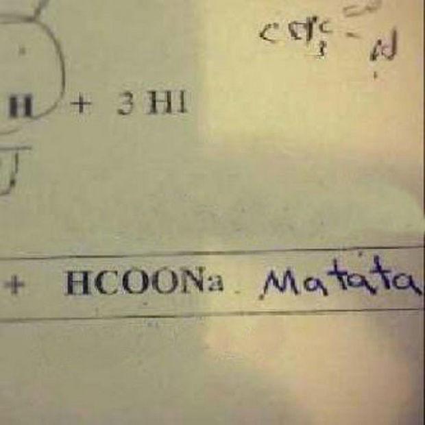 29 Funny Test Answers - HCOONa Matata