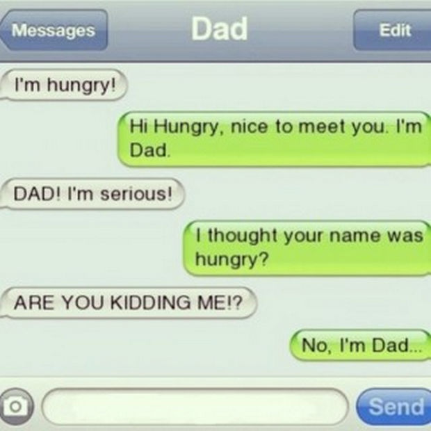 17 Funny Texts from Parents - Nice to meet you Hungry...