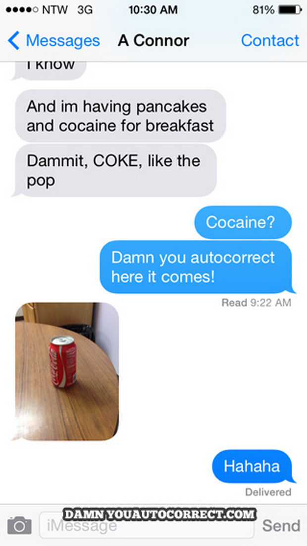 17 Funny Texts from Parents - A picture is definitely worth a 1,000 words in this conversation!