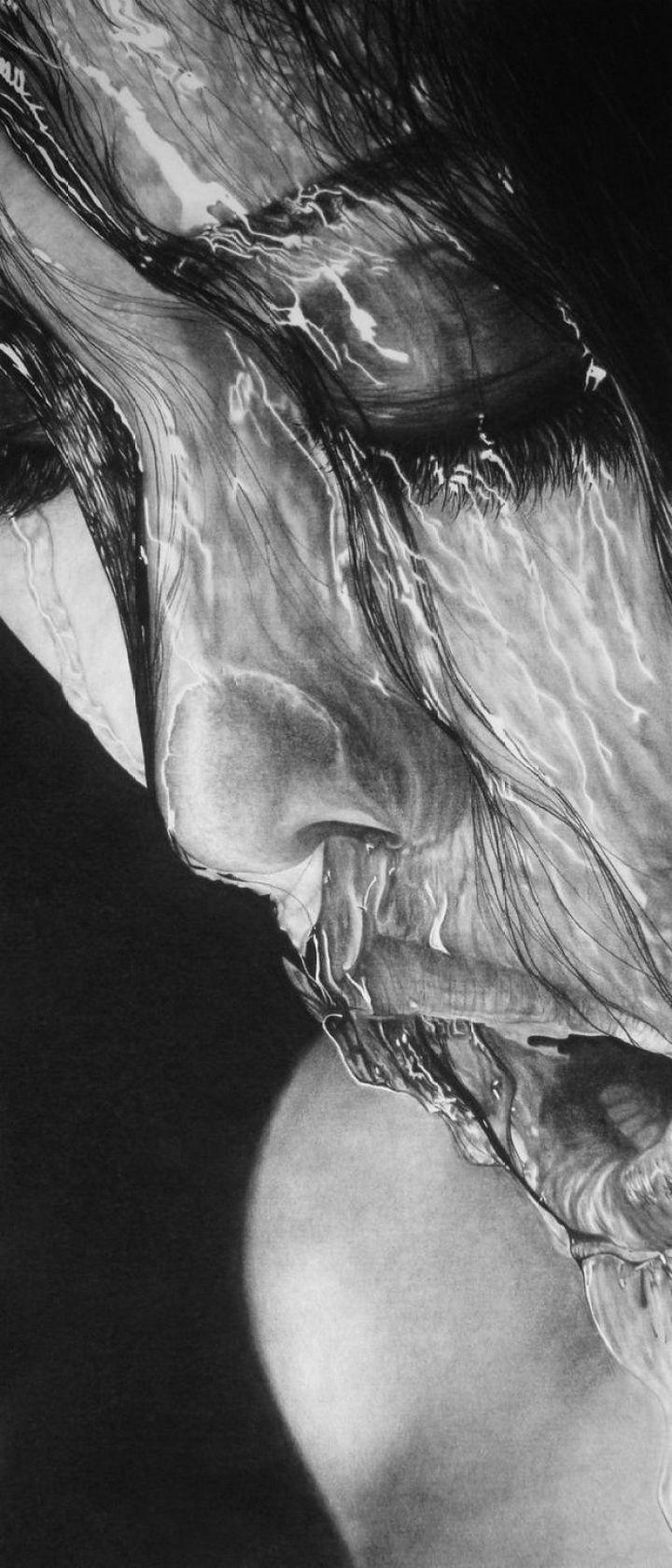 25 Amazingly Realistic Art Paintings - Daisy - Charcoal.